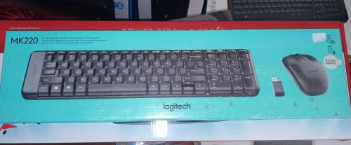 Pack:  Teclado + Mouse Logitech